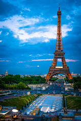 Eiffel (MarcoIE) Tags: travel summer urban paris france color art history classic tourism colors architecture french see ancient education ruins europe places romance entertainment smell learning taste marble elegance worthy gastronomic visualpleasure aroot