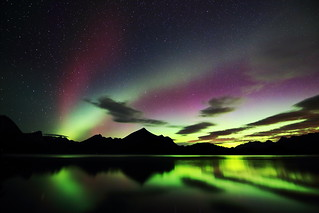 Kananaskis Lake aurora 4