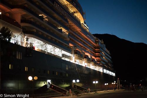 Cunard Queen Victoria ~ 7040
