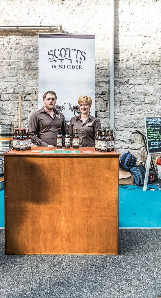 IRISH CRAFT BEER FESTIVAL IN THE RDS LAST WEEKEND IN AUGUST 2015 [SCOTT'S IRISH CIDER] REF-107274