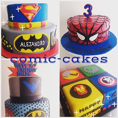Calling all superheroes!! What would your superpower be?  Mine...the ability to stop time! (3707) (Asweetdesign) Tags: cakes square comic squareformat superhero marvel lark fondant iphoneography instagramapp uploaded:by=instagram foursquare:venue=4d28cb28068e8cfa7858c94c