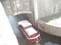 cluse parisienne (srakotomaniraka) Tags: france canal pniche ourcq parisfrance regionparisienne