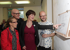 2015_Sep_(20) (Cavan County Council's Library Service) Tags: night live library arts culture drawings folklore sally launch cavan ucd runaways 2015 odowd mad4trad christir maccrthaigh