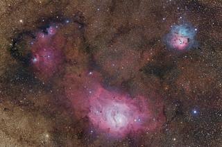 Sagittarius Triplet