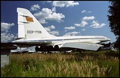 CCCP-77106 - Monino Museum 20.08.2001 (Jakob_DK) Tags: 2001 afl tupolev aeroflot monino tupolev144 tu144 tu144s tupolev144s centralrussianairforcemuseum