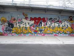 PC Crew: Paint Chicago 606 Trail Mural (Kevin Spacey1) Tags: chicago graffiti pc jash bloomingdaletrail 2015 labrat leks chicagograffiti pccrew cyfn enime wendl urae paintchicago 606trail