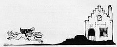 zonneschijn aug 1930 Anton Pieck  ill Peterseliana  (2) (janwillemsen) Tags: 1930 antonpieck magazineillustration zonneschijn