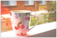 # 37- Cath Kidston hipster cup! (Mary_Blue09) Tags: cup hipster greentea cathkidston