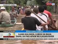 BT: Ilang kalsada, lubog sa baha dahil sa pag-apaw ng Ilagan river (thenewsvideos) Tags: river baha ilang kalsada dahil ilagan lubog pagapaw
