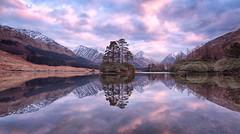 Lochan Urr, Glen Etive, Scotland (J McSporran) Tags: scotland highlands glenetive refelections buachailleetivebeag buachailleetivemor lochanurr