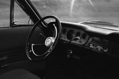 Ford Taunus 1967 Dashboard - Classic Cars (Analog World Thru My Lenses) Tags: classic cars ford 400tx 1967 dashboard taunus kodaktx400 ricohxr7 rikenon50mmf17