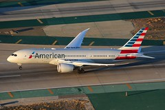 American Airlines Boeing 787-8 Dreamliner N807AA (Mark Harris photography) Tags: ca plane canon la aircraft 5d boeing lax spotting 787 dreamliner