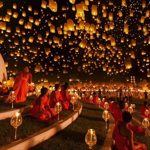 Bucket list moment ✨233😍233😍😍233😍😍😍✨ Lantern Festival, Chiang Mai - Thailand. Picture by ✨✨@JustinNgPhoto✨✨ Good night all ❤️❤️❤️ by wonderful_places