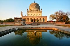 India - Telangana - Hyderabad - Tomb Of Hayat Baksh Begum - 16 (asienman) Tags: india hyderabad tombs telangana asienmanphotography qutbshahiheritagepark