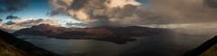 Loch Lomond (GenerationX) Tags: trees sky panorama mountains water rain weather landscape scotland unitedkingdom scottish neil gb loch benlomond trossachs lochlomond barr westhighlandway luss rowardennan a82 inverbeg beinndubh ptarmiganridge canon6d