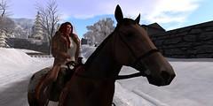 original_565e3602128cc90256000001 (Carla Putnam) Tags: winter woman fur furcoat redhead sl riding secondlife redhair ml mainland horseriding