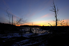 First snow (jarnasen) Tags: winter sunset sky copyright lake snow nature landscape fuji sweden outdoor dusk natur wideangle paisaje nordic sverige colourful scandinavia fujinon linkping landskap 10mm rosenkllasjn tonemapped xt1 fujifilmxt1 xf1024mmf4 jrnsen wwwfacebookcomjarnasenphotography