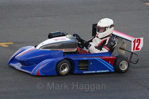 Kevin Ridley's Silverstone Yamaha 450 in Superkart racing during the BRSCC Winter Raceday, Donington, 7th November 2015