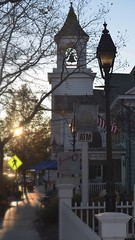 Cold Spring Harbor Sidewalk (firecomet) Tags: ny newyork church li mainstreet longisland sidewalk coldspringharbor suffolkcounty