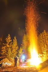 November Fest Campfire (budd stanley) Tags: ford rainforest offroad 110 budd samurai suzuki buggy landrover discovery rangerover 90 wheeling defender allterrain fording d90 rockcrawling novemberfest watercrossing nightrun d110 buddstanley