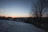 Winter cold (Melvinia_) Tags: schnee winter light sunset snow tree germany landscape bayern deutschland bavaria licht sonnenuntergang lumière hiver footprints neige paysage allemagne arbre baum coucherdesoleil empreintes bavière canoneos450d digitalrebelxsi