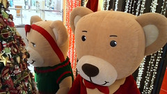 Decorao natalina. (Jos Argemiro) Tags: christmas natal mall shopping bears decor decorao festas fimdeano ursos comrcio