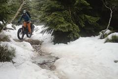 Snow on the Rocks (all martn) Tags: schnee snow expedition hory isergebirge fatbike jizerske fettrad