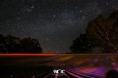 Stars over the Goulburn Weir, Nagambie (Hayden Charles) Tags: rooftop stars sigma 5dmkiii 50mmf14artseries
