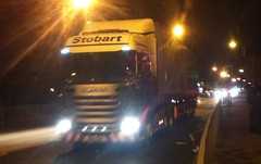 H2301 - PO15 UOR (Cammies Transport Photography) Tags: road truck bernadette lorry louise eddie scania admiralty esl rosyth uor stobart eddiestobart r450 po15 h2301 po15uor