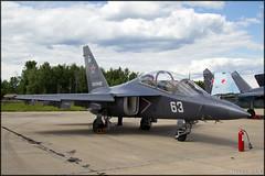 Yakovlev Yak-130 (Pavel Vanka) Tags: plane airplane fighter russia aircraft jet airshow spotting spotter yakovlev kubinka yak130 russianairforce uumb army2015