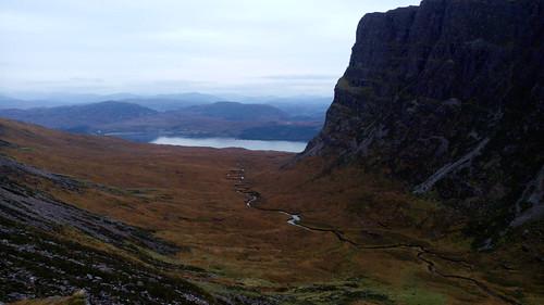 Route qui mène à Applecross, nord de l'Écosse