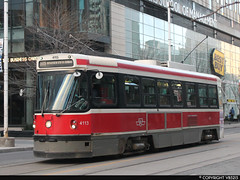 Toronto Transit Commission #4113 (vb5215's Transportation Gallery) Tags: toronto canada ttc transit 1980 commission l2 siddeley clrv utdchawker