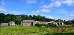 Garrett Hall Farm (Joan's Pics 2012) Tags: garrethallfarm tyldesley horses farm grade2listed scenic