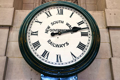 Central Railway Station (lukedrich_photography) Tags: australia oz commonwealth        newsouthwales nsw canon t6i canont6i history culture sydney       metro city rail transport train central railway station cbd centralbusinessdistrict haymarket government clock time analog numeral