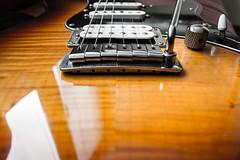 Bridge (roccopossidente) Tags: yamaha pacifica guitar flamed maple musical instruments tremolo bridge