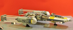 Y-wing - Just parking (dmaclego) Tags: lego star wars fighter a new hope rebel spaceship