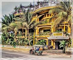 Khmer tuktuk (Bruno Zaffoni) Tags: siemreap cambodia