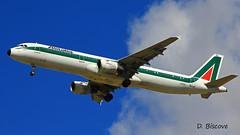 Airbus A 321 ~ I-BIXL  Alitalia (Aero.passion DBC-1) Tags: dbc1 aeropassion david biscove aviation avion aircraft plane spotting cdg roissy airport airbus a321 ibixl alitalia