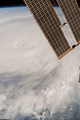 Space Station Flyover of Hurricane Matthew (Grypons) Tags: image day by nasa nasaimageoftheday space station flyover hurricane matthew