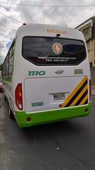 Buseta JAC Comnalmicros 1110 WNV574 Bogotá (ElvaghoX) Tags: buseta jac comnalmicros 1110 wnv574 bogotá bus 6756 hk6738 motor cummins 38 llanta sellomatic aireacondicionado modelo 2017 26 pasajeros cilindraje 3760 cambiosadelante 6 númerodepuertas 2 transporte turismo escolar rear