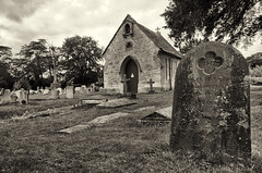 Lacock cemetery (Pat Charles) Tags: london england unitedkingdom uk travel tourism nikon architecture lacock cemetery church death dying burial bury blackwhite bw monochrome outdoor outside