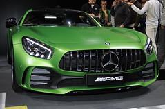 Mercedes by AMG (Fabien 85) Tags: biturbo v8biturbo v8 automobile mondial voiture course sport satine mat vert tuning prpare mercedes amg