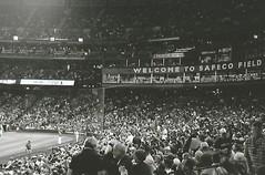 Crowd Shot Safeco Field (trainphotoz) Tags: seattle mariners seattlemariners safecofield baseball baseballstadium baseballfield ballpark redsox bostonredsox