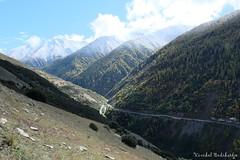 The Road (Vinchel) Tags: china sichuan siguniang trek outdoor mountain hiking fuji xt2 1655mm f28 landscape mountainside hill travel