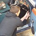 """Some final fettling in the under-dash area of The Duchess, tidying up the overdrive wiring. • <a style=""""font-size:0.8em;"""" href=""""http://www.flickr.com/photos/79650229@N03/30315516750/"""" target=""""_blank"""">View on Flickr</a>"""