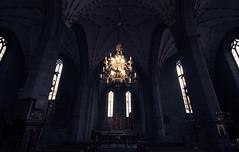 (c) Wolfgang Pfleger-9116 (wolfgangp_vienna) Tags: sweden schweden skandinavien scandinavian kirche church gotik gothic gotisch vadstena leuchter kandelaber