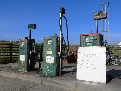 Coll - petrol station