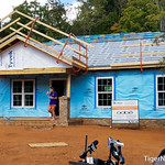 Clemson Football at Habitat for Humanity Photos
