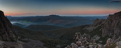 Ben Nevis from Ben Lomond (Rich Morrison) Tags: ben lomond national park jacobs ladder launceston tasmania australia pano panorama nikon d5000 sunset nevis