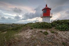 In the dunes (LarsGerritS) Tags: light golden gold leuchtturm lighthouse amrum northerngermany nordsee northsea windy wind nature outdoor clouds amazing dawn